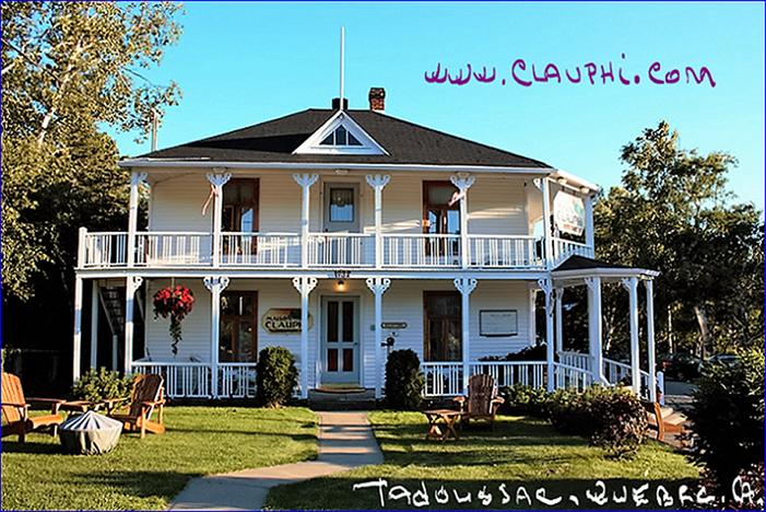 Auberge bb h tel maison clauphi tadoussac qu bec canada for Auberge maison roy hotel quebec city